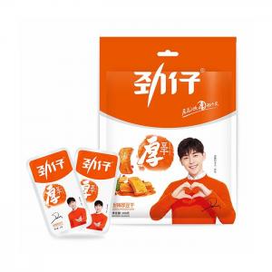 Jinzai Harde tofu hete smaak (劲仔豆干 香辣味)
