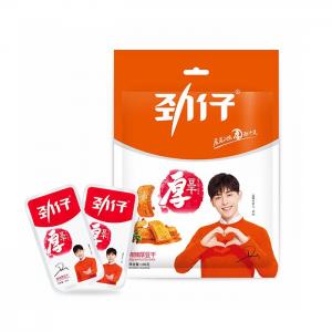 Jinzai Harde tofu vurige smaak (劲仔豆干  麻辣厚)