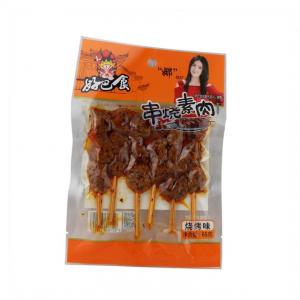 Hi Pass Tofu snack op sate stok geroosterde smaak (好巴食 串烧素肉 烧烤味)
