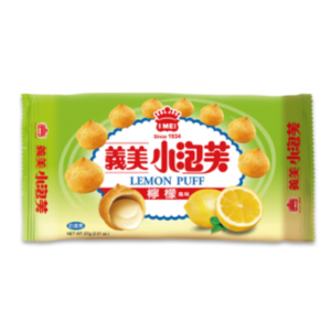 I Mei Lemon puff (义美 小泡芙柠檬味)