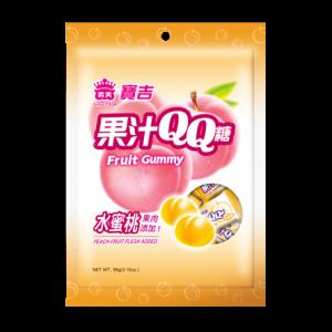 I Mei Fruit gummy perzik smaak