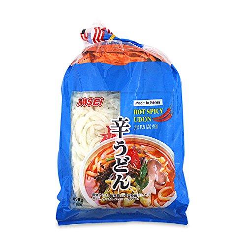 Instant Japanse udon met hete, pikante smaak