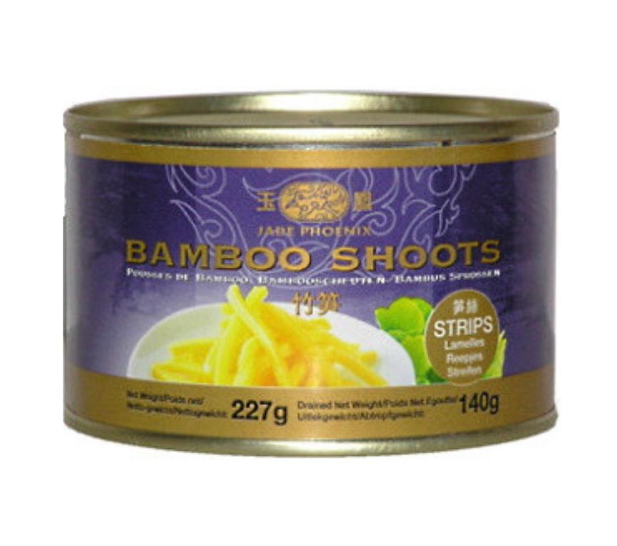 Bamboo shoot strips