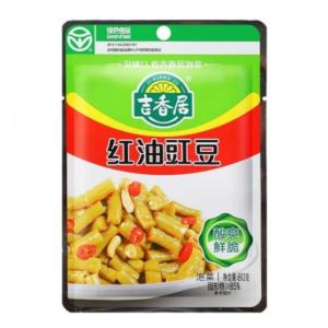 Ji Xiang Ju Bonen met chili olie (吉香居 红油豇豆)