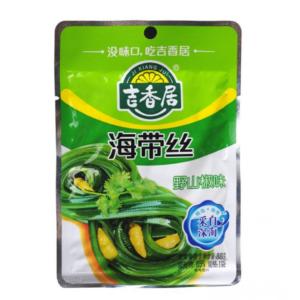 Ji Xiang Ju  Seaweed with chili pepper (吉香居 海带丝 野山椒味)