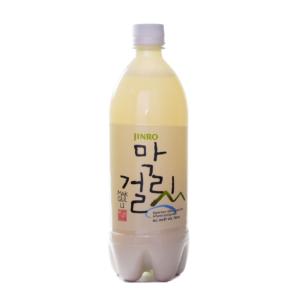 Jinro Korean rice wine makgeolli  6% ALC.