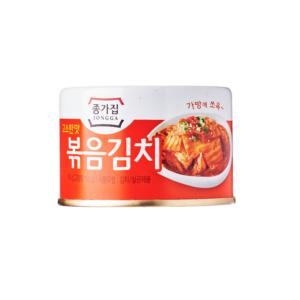 Jongga  Fried kimchi in can