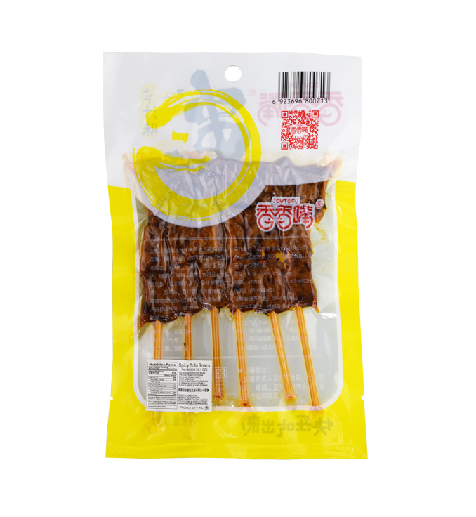 Tofu snack lamsvlees smaak (香香嘴 串烧羊汁味)