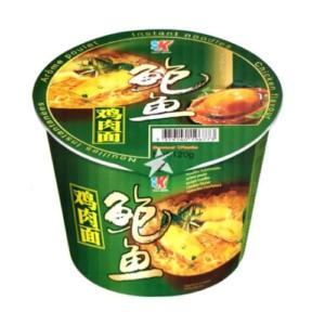Kailo Brand  Bowl noodle chicken flavor (家乐鲍鱼鸡肉面 (桶))