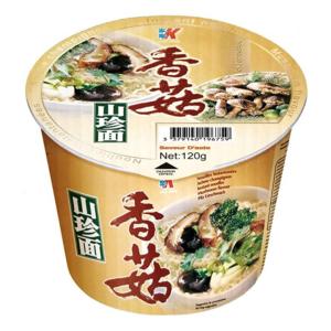 Kailo Brand Bowl noodle mushroom flavor (家乐香菇山珍面 (桶))
