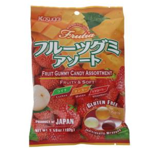 Kasugai Fruit gummy candy assortiment