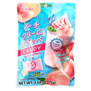 Kasugai Peach creamy frappé candy