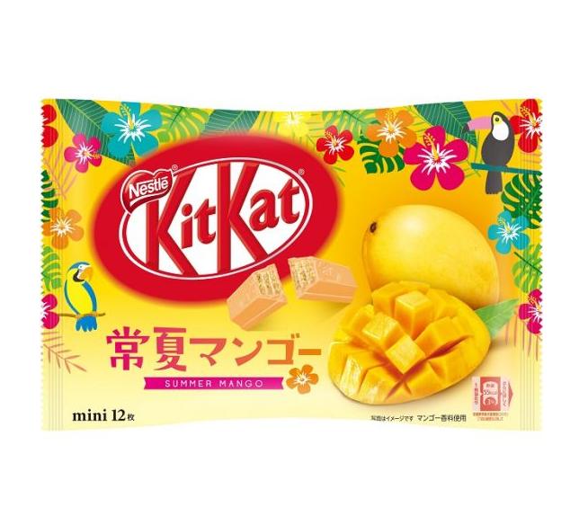 KitKat summer mango flavor