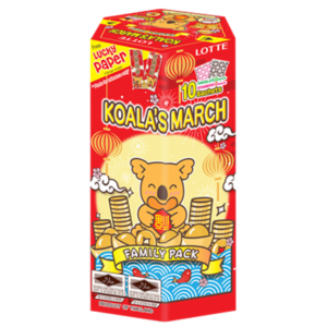 Lotte Koala cookies Chinese New Year family pack