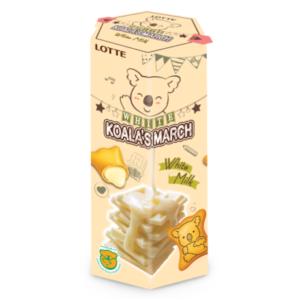 Lotte Koala koekjes met witte melk smaak