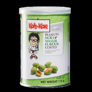 Koh-Kae Peanuts nori wasabi flavour coated (115g)