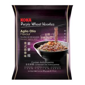 Koka Purple wheat noodle algio olio flavor (可口紫麥即食麵 60g)