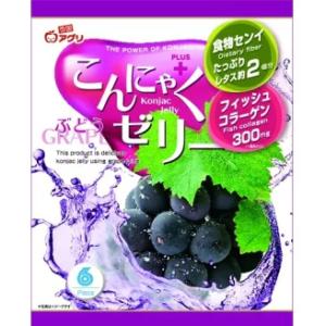 Yukiguni Aguri Konjac jelly zwarte druivensmaak