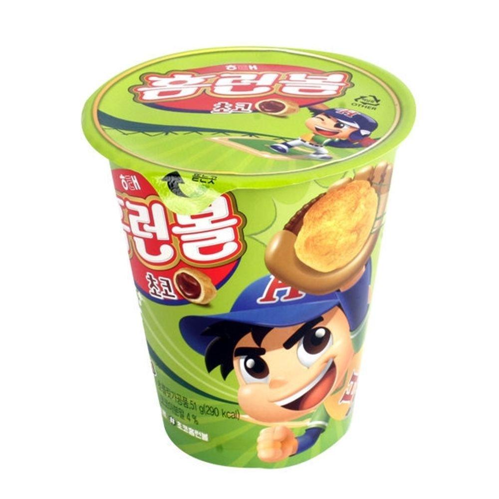 Koreaanse crackers homerun balls