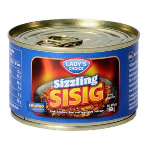 Lady's Choice Sizzling sisig