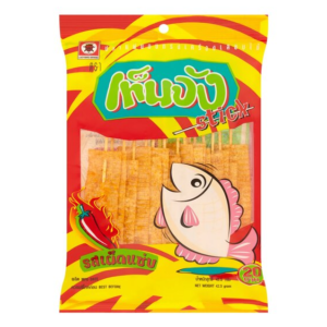 Ladybird Fish snack stick chili flavour