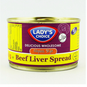 Lady's Choice Beef liver spread