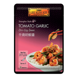 Lee Kum Kee Tomaten knoflook roerbaksaus (李錦記干燒明蝦醬)