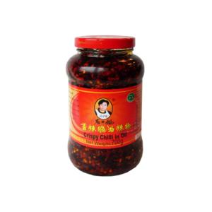 Laoganma Krokante chilli in olie (700g)