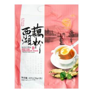 Lian Feng West lake lotus root paste osmanthus date flavor (莲峰 西湖藕粉 桂花红枣味)
