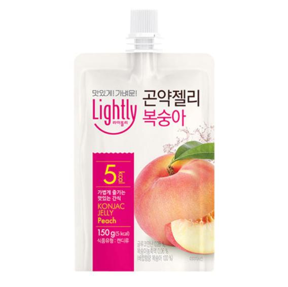 Konjac jelly drink peach flavor