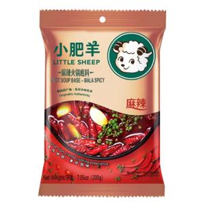 Little Sheep Hot pot soup base mala spicy  (小肥羊 火锅底料 麻辣)