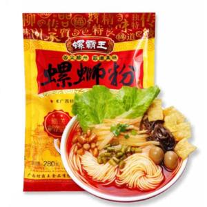 Lo Ba Wang  Original snail rice noodles (螺蛳粉 280克)
