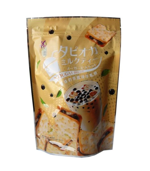 Love&Love Nougat biscuit met bubble thee smaak (牛軋蘇 珍珠奶茶味)