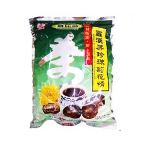 ge xian weng Lo-han-kuo, parel en chrysanthemum drank