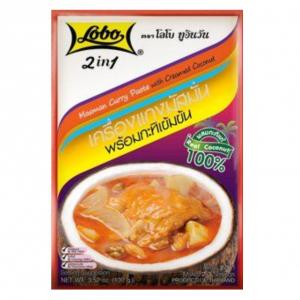 Lobo Masman currypasta met kokoscrème