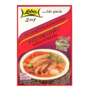 Lobo Rode currypasta met kokoscrème
