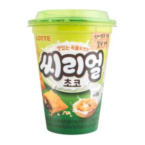 Lotte Chocolade crackers granen cup