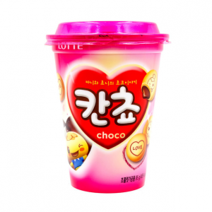 Lotte Kancho cup chocolade crackers