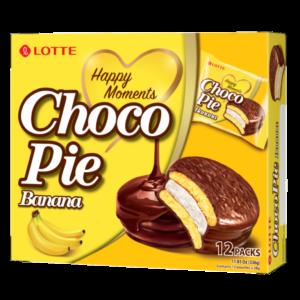 Lotte Choco pie banana flavour