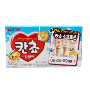 Lotte Kancho biscuit sweet milk flavour