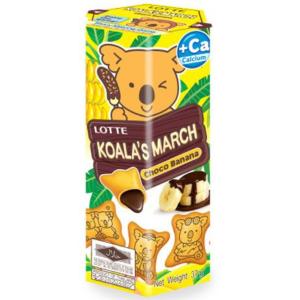 Lotte Koala koekjes met choco banaan smaak