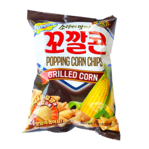 Lotte Grilled popping corn chips