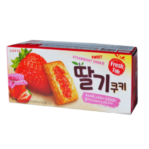 Lotte Sweet strawberry cookie