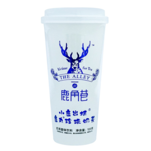 Lu Jiao Xiang 鹿角巷 鹿丸珍珠奶茶 小鹿出抹 Brown sugar pearl milk tea matcha flavour
