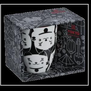 Tokyo design Studio Kawaii white lucky cat mug