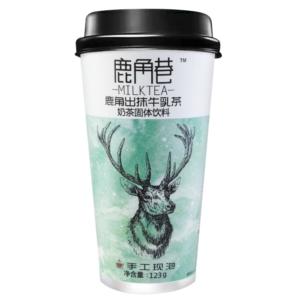 Lu Jiao Xiang 鹿角巷 出抹牛乳茶 melkthee matcha smaak