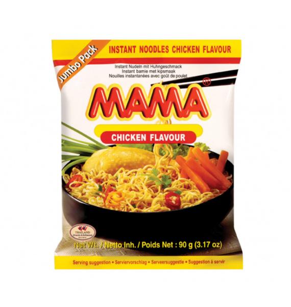 Mama Noedels kip smaak jumbo (媽媽雞味麵)