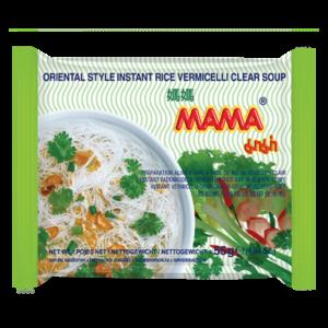 Mama Vermicelli in heldere soep Orientaalse stijl (媽媽米粉)