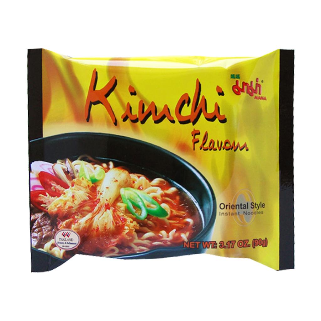 Noedels kimchi smaak (媽媽泡菜麵)