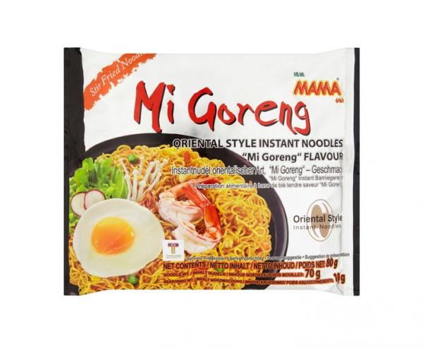 Mama Noedels mi goreng smaak (媽媽炒麵)